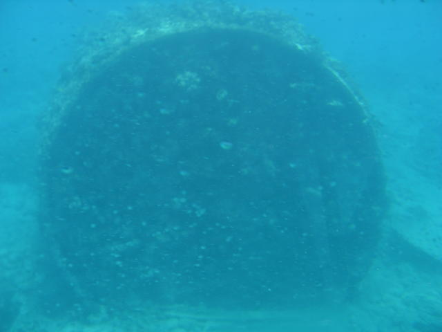 The SS Matai - One of the Boilers